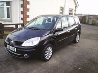 08 RENAULT GRAND SCENIC 1.5DCI, 5DOOR, *7SEATER* *MOT TO NOV 2018*
