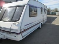 swift challenger 530-se four berth touring caravan 1998, great layout lightweight modern caravan .