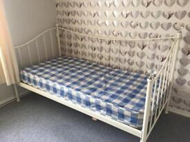 Single day bed with mattress from benson beds
