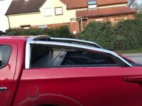Chrome roll bar and mountain roll too for Mitsubishi L200 warrior