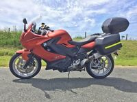 BMW F800GT, full BMW luggage, comfort pack, dynamic pack