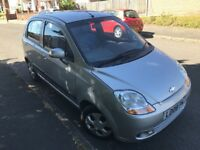 2008 Chevrolet Matiz SE 995cc Petrol 5dr Good Condition Full MOT Bargain