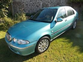2004 Rover 45 1.8 Low Miles 13 months MOT