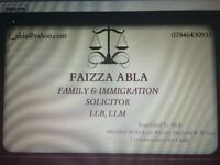 Family and Immigration Solicitor