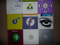 50 dance vinyl records collection. EXCELLENT cond. Trance House Progressive Tech Minimal
