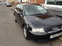 Audi A3 1.8 - 3 Owners - 1 year MOT - PRICE DROP