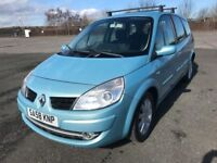 ,,,58 REG RENAULT GRANDE SCENIC DYNAMIQUE 7 SEATER ONLY £1999