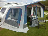 AWNING FOR POP-UP CARAVAN.