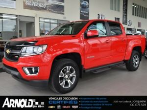2015 CHEVROLET COLORADO CREW CAB, Z71 SWB,