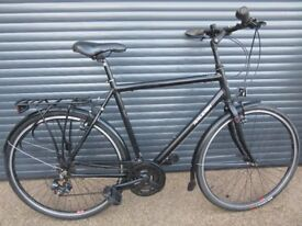 MENS LARGE FRAME RALEIGH LIGHTWEIGHT ALUMINIUM BIKE IN EXCELLENT USED CONDITION..