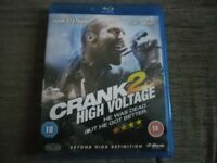 The Crank 2 High Voltage Blu Ray