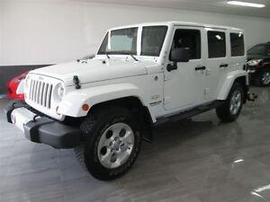 2013 Jeep WRANGLER UNLIMITED Sahara - NAVI -