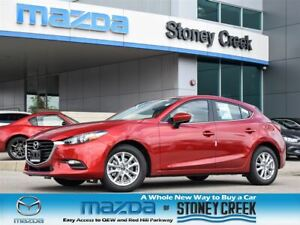 2018 Mazda Mazda3 GS at w/ Moonroof, DEMO, Finance Rates as low