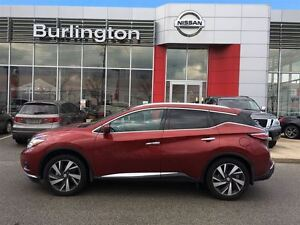 2016 Nissan Murano Platinum, WOW ONLY $38,900 plus HST