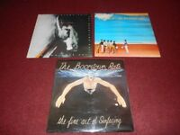 BOOMTOWN RATS VINYL RECORD ALBUMS 3 IN TOTAL