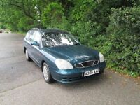 DAEWOO NUBIRA ESTATE BRAND NEW MOT
