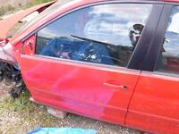 VW Polo 9N 2002 - 2009 N/S/F - Front Passenger Door LP3G Flash Red