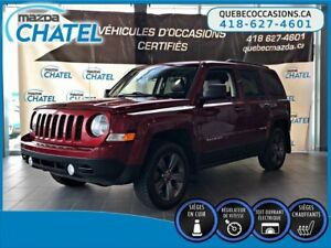 2015 Jeep Patriot HIGH ALTITUDE - 4X4 - CUIR - TOIT OUVRANT