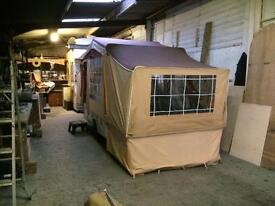 Creighton bins folding camper REDUCED MUST GO £395 no offers