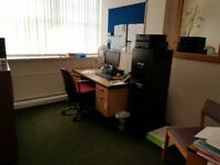 Ground floor offices to rent. Recently refurbished offices in great city centre location (BD8).
