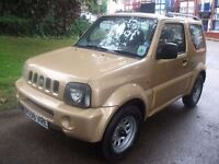 Suzuki Jimny 1.3 JLX 3dr , SUV 3 MONTHS WARRANTY HAVE ALL PREVIOUS MOTS BACK UP MILEAGE