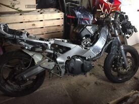 1993 Honda CBR400RR Gullarm project