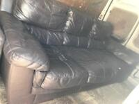 3 seater sofa with armchair