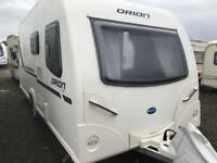 fixed bed touring caravan Bailey Orion 430 -4