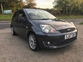 FORD FIESTA ZETEC S 3DR GREY 1.6 2007 LOW MILES
