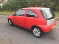 Vauxhall corsa 1 lira petrol 06 plate