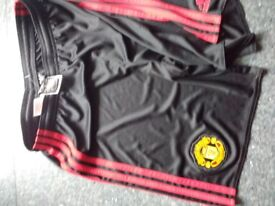 Adidas Manchester United shorts size 13-14 years old