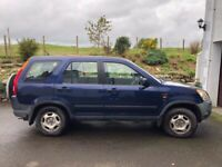 Honda, CR-V, Estate, 2002, Petrol, Manual, 1998 (cc), 5 doors