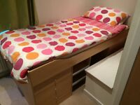 Low Single Cabin Bed