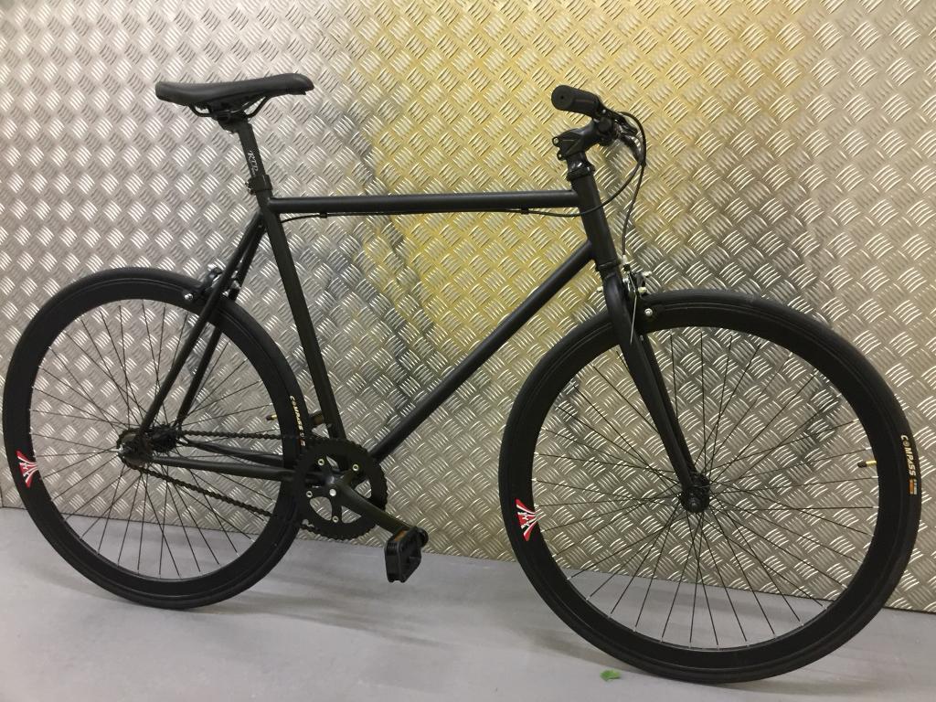 Brand new single speed /fixed gear road bike racing hybrid bicycle