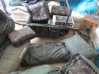 complete carp fishing setup