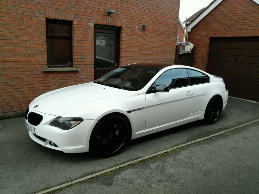 STUNNING BMW I ALPINA WHITE PRICE REDUCED In Ballinderry - 645i bmw