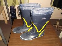 boating boots size 8s