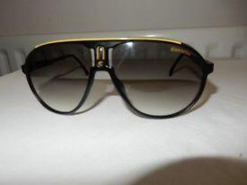 CARRERA CHAMPION CD3YR Black Aviator Sunglasses