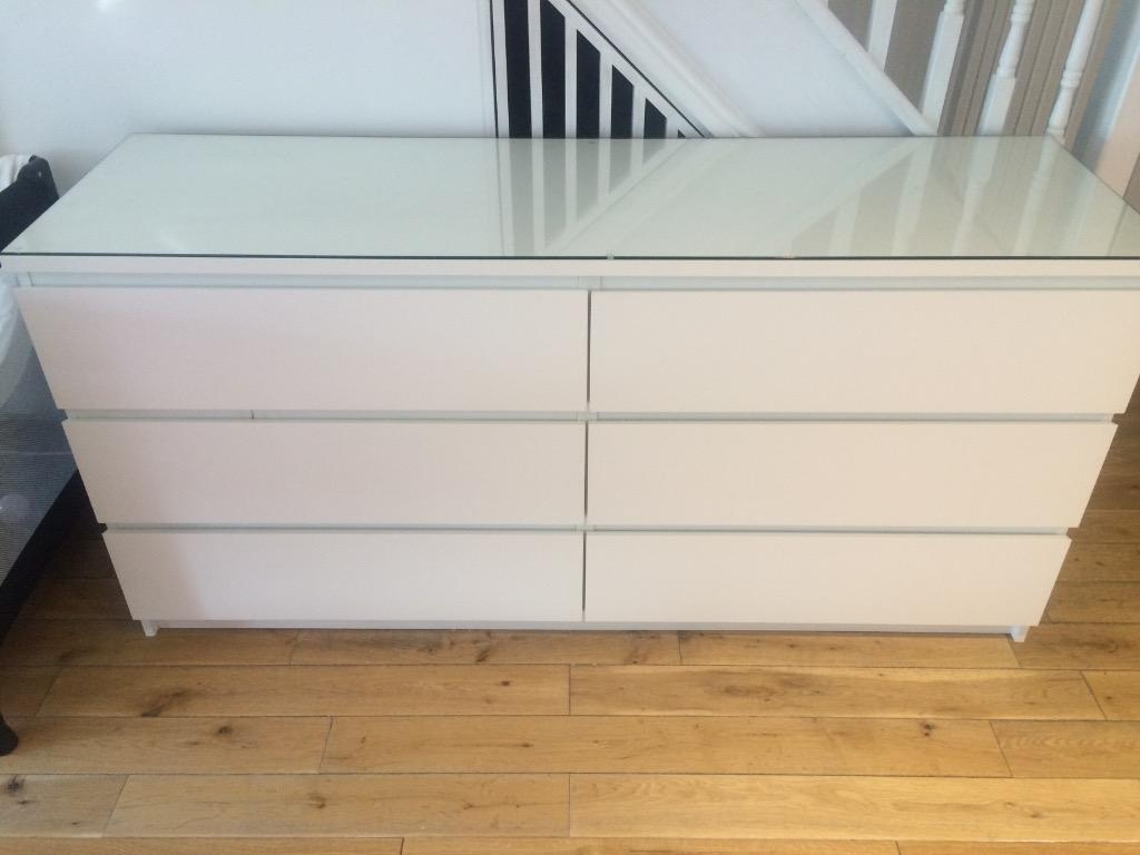 Ikea malm chest of drawers in north shields tyne and for Ikea schreibtisch malm weiay