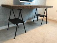 Cork top table / desk