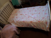 White Toddler Bed in great condition