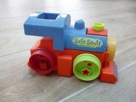 Soft Stuff Train. This is used with Playdough and the dough comes out in 10 different shapes!