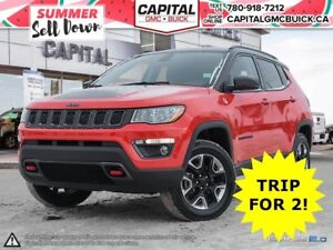 2017 Jeep Compass TRAILHAWK 4WD LEATHER OFF ROAD SUSPENSION NAV