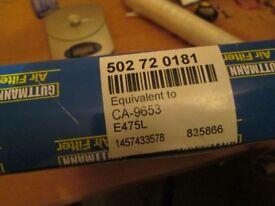 Guttmann CA9653 Air Filter Element. Vauxhall Vectra Signum -REF- 0.463kgheavy-492ap1snk4x