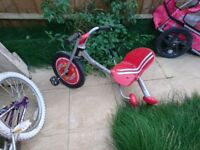 Child's bike/trike/slider