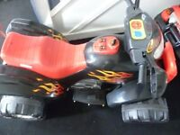Kids Quad Good Working Order Battery Powered With Charger and key 35.00