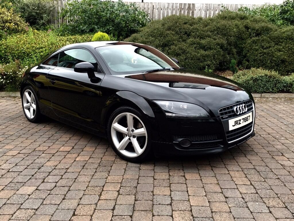 2009 audi tt 2 0 tdi quattro black s line a5 a6 a4 a3 a1 golf vw bmw z4 mazda mx5 slk mercedes. Black Bedroom Furniture Sets. Home Design Ideas