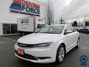 2016 Chrysler 200 Limited 5 Passenger w/Backup Camera, 2.4L
