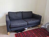 IKEA 2 Karlstad 2 seater sofa