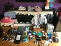Various kids clothing and shoes